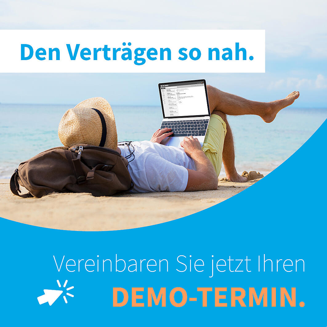 Demo-Termin ISR Contract Manager
